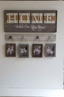 Creative diy rustic home decor ideas 23