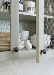 Creative kitchen open shelves ideas on a budget 01