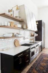 Creative kitchen open shelves ideas on a budget 04