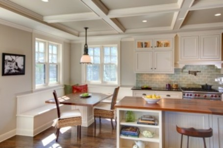 Fascinating kitchen islands ideas with seating and dining areas (17)