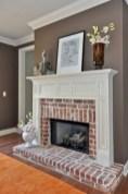 Gorgeous apartment fireplace decor ideas (15)