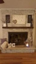 Gorgeous apartment fireplace decor ideas (46)