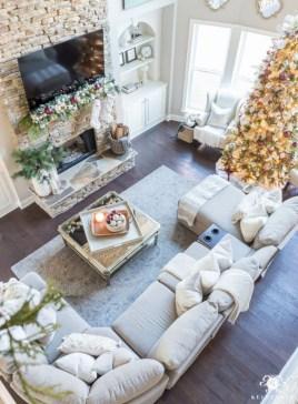 Gorgeous apartment fireplace decor ideas (47)