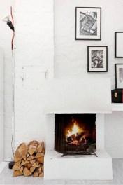 Gorgeous apartment fireplace decor ideas (5)