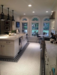 Gorgeous kitchen floor tiles design ideas (25)