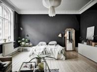 Inspiring grey studio apartment decor ideas on a budget (10)