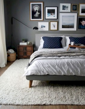 Inspiring grey studio apartment decor ideas on a budget (11)