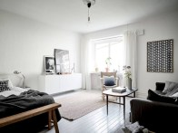 Inspiring grey studio apartment decor ideas on a budget (12)