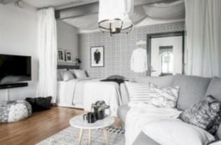 Inspiring grey studio apartment decor ideas on a budget (13)