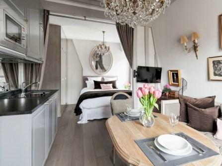 Inspiring grey studio apartment decor ideas on a budget (15)