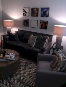 Inspiring grey studio apartment decor ideas on a budget (28)