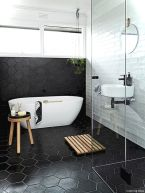 Luxury black and white bathroom design ideas 02