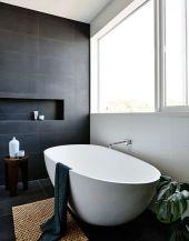 Luxury black and white bathroom design ideas 09