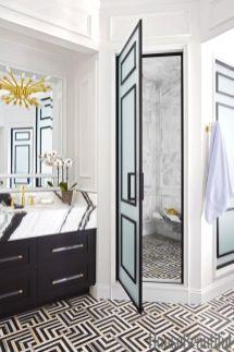 Luxury black and white bathroom design ideas 12