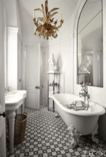 Luxury black and white bathroom design ideas 25
