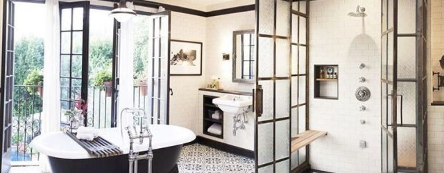 Luxury black and white bathroom design ideas 28