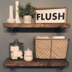 Modern farmhouse bathroom decor ideas (16)