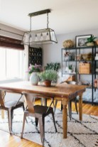 Modern farmhouse dining room decorating ideas (2)