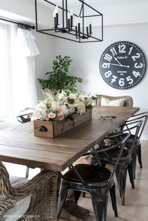 Modern farmhouse dining room decorating ideas (26)