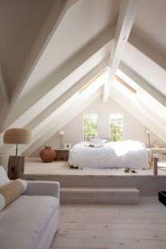 Nice loft bedroom design decor ideas 08