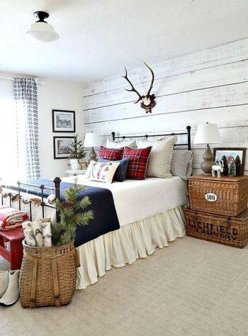 Nice loft bedroom design decor ideas 24