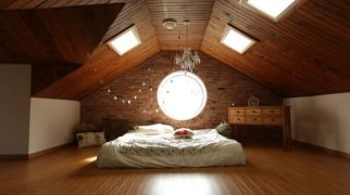 Nice loft bedroom design decor ideas 26