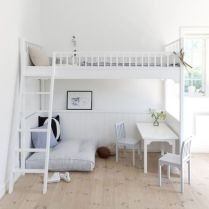 Nice loft bedroom design decor ideas 30