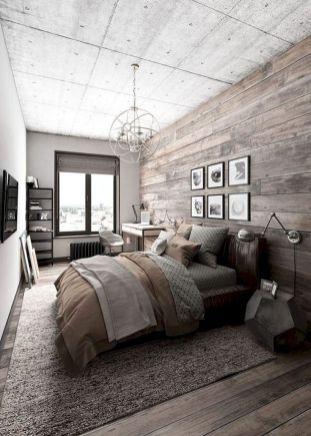 Nice loft bedroom design decor ideas 35
