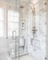 Stunning attic bathroom makeover ideas on a budget 08