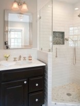 Stunning attic bathroom makeover ideas on a budget 09