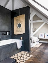Stunning attic bathroom makeover ideas on a budget 14