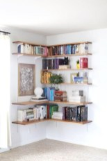 Stunning corner shelves decoration ideas 01
