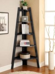 Stunning corner shelves decoration ideas 19