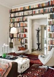 Stunning corner shelves decoration ideas 20