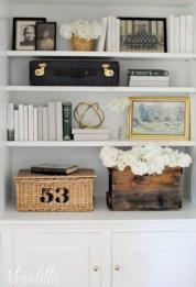 Stunning corner shelves decoration ideas 24