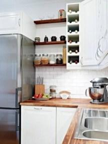 Stunning corner shelves decoration ideas 27