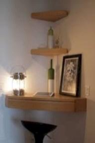 Stunning corner shelves decoration ideas 29