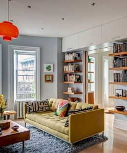 Totally inspiring small apartment decorating ideas on a budget 37