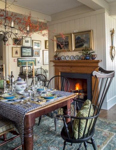 Vintage victorian dining room decor ideas (1)