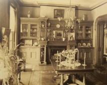 Vintage victorian dining room decor ideas (13)