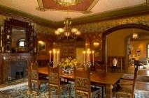 Vintage victorian dining room decor ideas (14)