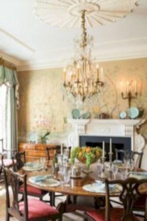 Vintage victorian dining room decor ideas (2)