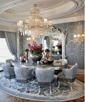 Vintage victorian dining room decor ideas (20)
