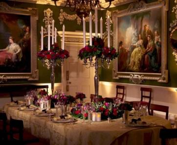 Vintage victorian dining room decor ideas (29)