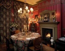 Vintage victorian dining room decor ideas (3)