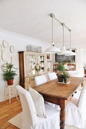 Vintage victorian dining room decor ideas (33)