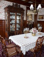 Vintage victorian dining room decor ideas (38)