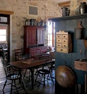 Vintage victorian dining room decor ideas (4)