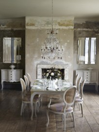Vintage victorian dining room decor ideas (42)