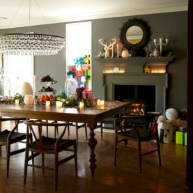 Vintage victorian dining room decor ideas (43)